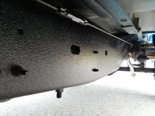 Underneath Car After