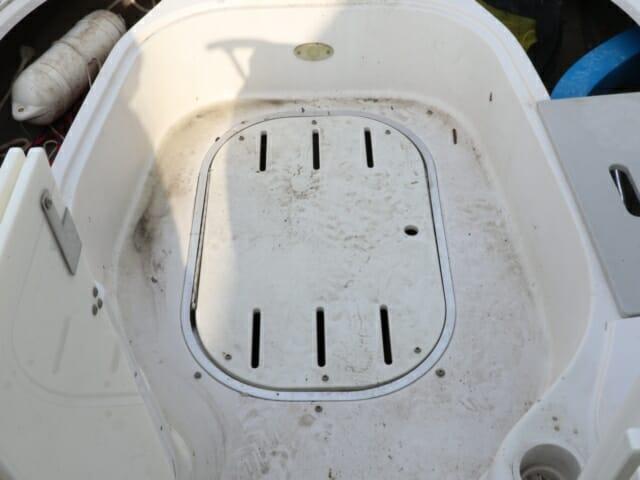 Boat Floor Before