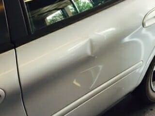 Car Door Paintless Dent Repair