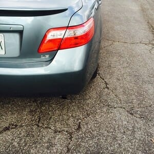 Camry Paintless Dent Repair